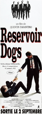Reservoir Dogs - French Movie Poster (xs thumbnail)