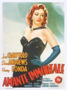 Daisy Kenyon - Italian Movie Poster (xs thumbnail)