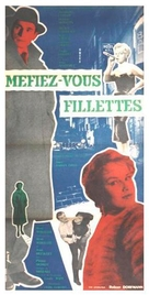 Méfiez-vous, fillettes! - French Movie Poster (xs thumbnail)
