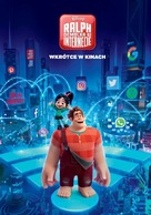 Ralph Breaks the Internet - Polish Movie Poster (xs thumbnail)