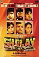 Sholay - Indian Re-release poster (xs thumbnail)