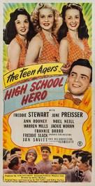 High School Hero - Movie Poster (xs thumbnail)