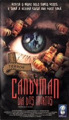 Candyman: Day of the Dead - Brazilian VHS cover (xs thumbnail)