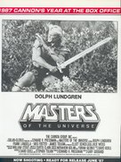 Masters Of The Universe - poster (xs thumbnail)