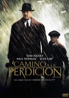 Road to Perdition - Spanish Movie Cover (xs thumbnail)