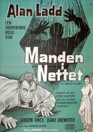 The Man in the Net - Danish Movie Poster (xs thumbnail)