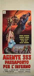 Agente 3S3: Passaporto per l'inferno - Italian Movie Poster (xs thumbnail)