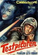On the Threshold of Space - German Movie Poster (xs thumbnail)