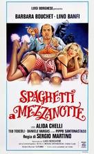 Spaghetti a mezzanotte - Italian Theatrical poster (xs thumbnail)