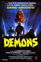 Demoni - Spanish Movie Poster (xs thumbnail)