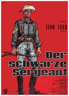 Sergeant Rutledge - German Movie Poster (xs thumbnail)