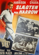 The Foxes of Harrow - Danish Movie Poster (xs thumbnail)