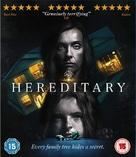 Hereditary - British Blu-Ray cover (xs thumbnail)
