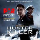 Hunter Killer - Lithuanian Movie Poster (xs thumbnail)