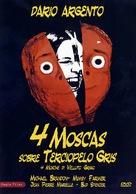 4 mosche di velluto grigio - Spanish DVD cover (xs thumbnail)