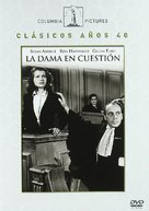 The Lady in Question - Spanish DVD cover (xs thumbnail)