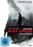 Alex Cross - German DVD cover (xs thumbnail)