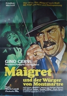 Maigret à Pigalle - German Movie Poster (xs thumbnail)