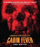 Cabin Fever - Blu-Ray movie cover (xs thumbnail)