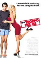 She's Out of My League - Italian Movie Poster (xs thumbnail)