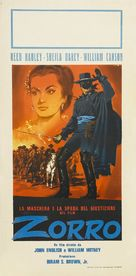 Zorro's Fighting Legion - Italian Re-release poster (xs thumbnail)