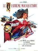 I quattro moschettieri - French Movie Poster (xs thumbnail)