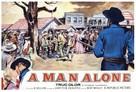A Man Alone - poster (xs thumbnail)