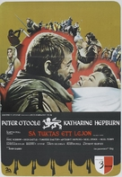 The Lion in Winter - Swedish Movie Poster (xs thumbnail)