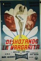 En effeuillant la marguerite - Mexican Movie Poster (xs thumbnail)