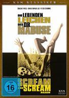 Scream and Scream Again - German DVD cover (xs thumbnail)