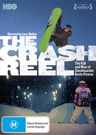 The Crash Reel - Australian DVD cover (xs thumbnail)