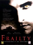 Frailty - Italian Movie Cover (xs thumbnail)