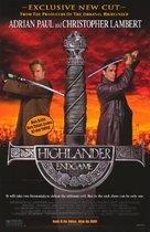 Highlander: Endgame - Video release movie poster (xs thumbnail)