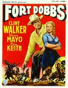 Fort Dobbs - Belgian Movie Poster (xs thumbnail)
