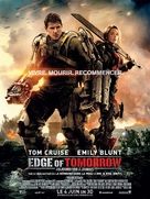 Live Die Repeat: Edge of Tomorrow - French Movie Poster (xs thumbnail)