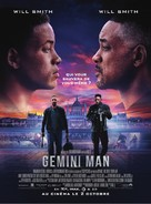 Gemini Man - French Movie Poster (xs thumbnail)