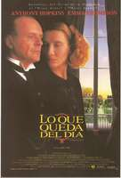 The Remains of the Day - Spanish Movie Poster (xs thumbnail)
