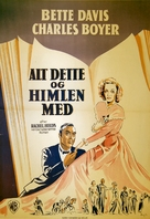 All This, and Heaven Too - Danish Movie Poster (xs thumbnail)