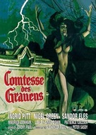Countess Dracula - German DVD cover (xs thumbnail)