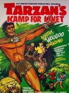 Tarzan's Fight for Life - Norwegian Movie Poster (xs thumbnail)
