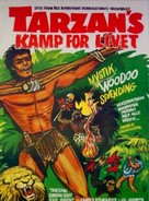 Tarzan's Fight for Life - Norwegian Movie Poster (xs thumbnail)