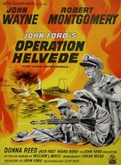 They Were Expendable - Danish Movie Poster (xs thumbnail)