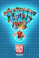 Ralph Breaks the Internet - Indian Movie Poster (xs thumbnail)