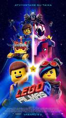 The Lego Movie 2: The Second Part - Lithuanian Movie Poster (xs thumbnail)