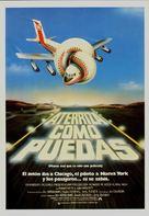 Airplane! - Spanish Movie Poster (xs thumbnail)