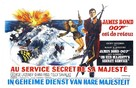 On Her Majesty's Secret Service - Belgian Movie Poster (xs thumbnail)