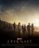 Eternals - British Movie Poster (xs thumbnail)