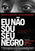 I Am Not Your Negro - Brazilian Movie Poster (xs thumbnail)