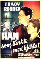 Boys Town - Swedish Movie Poster (xs thumbnail)