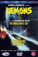 Demoni 2 - British DVD cover (xs thumbnail)
